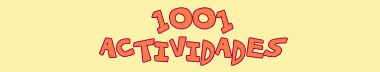 <div>1001 actividades</div>