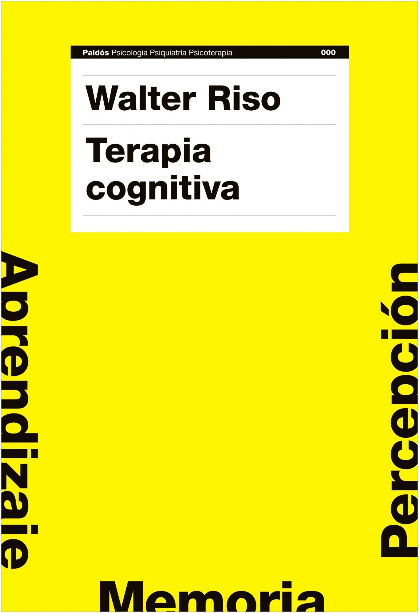 Terapia cognitiva. Walter Rizo. PDF