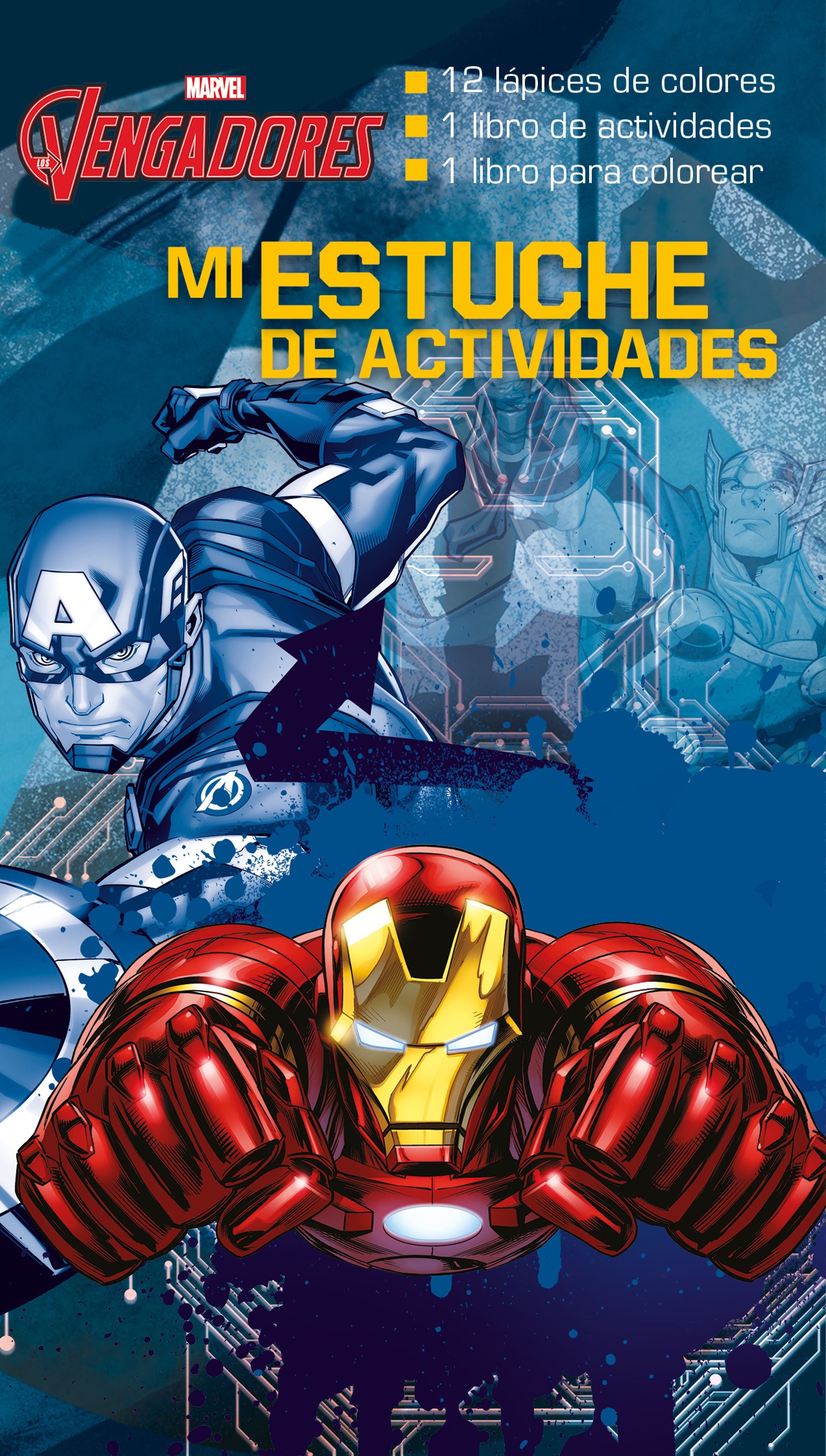 Los Vengadores. Mi estuche de actividades | Planeta de Libros