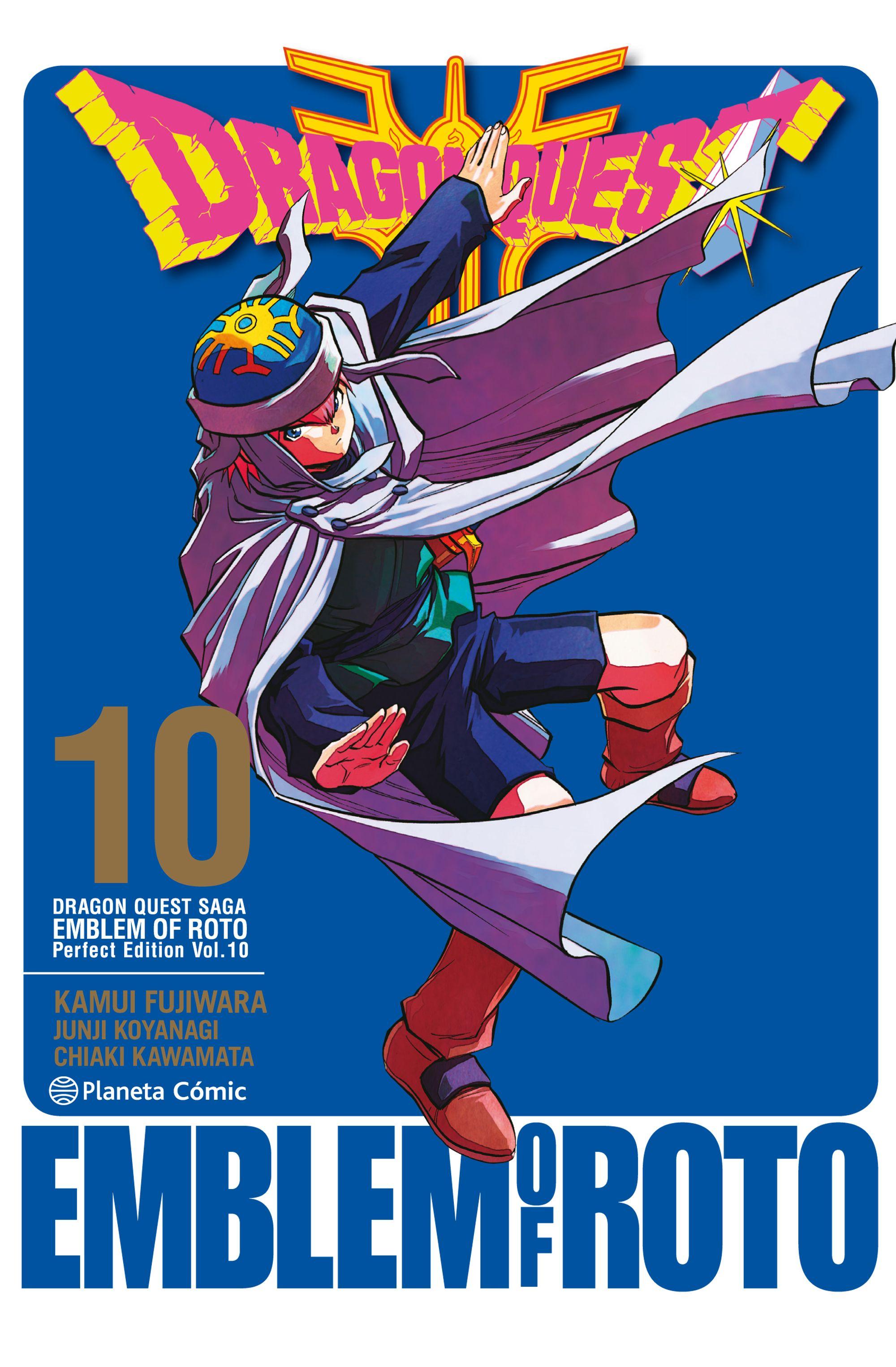 Reseña manga de Dragon Quest: Emblem of Roto 10