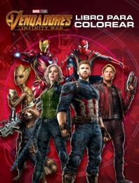 Vengadores. Infinity War. Libro para colorear
