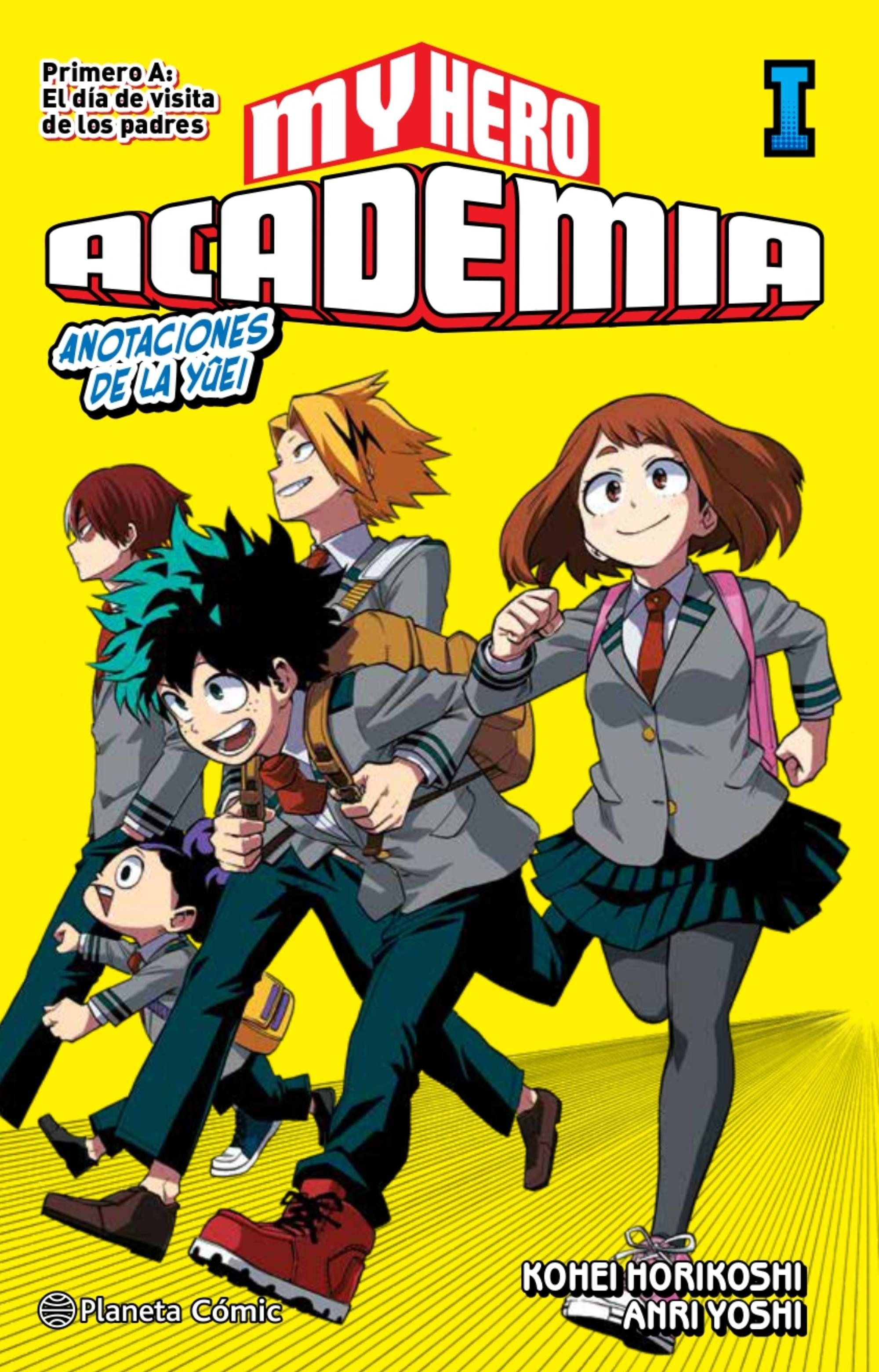 Reseña novela My Hero Academia 1