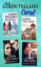 Pack Corín Tellado 3 (Coral)