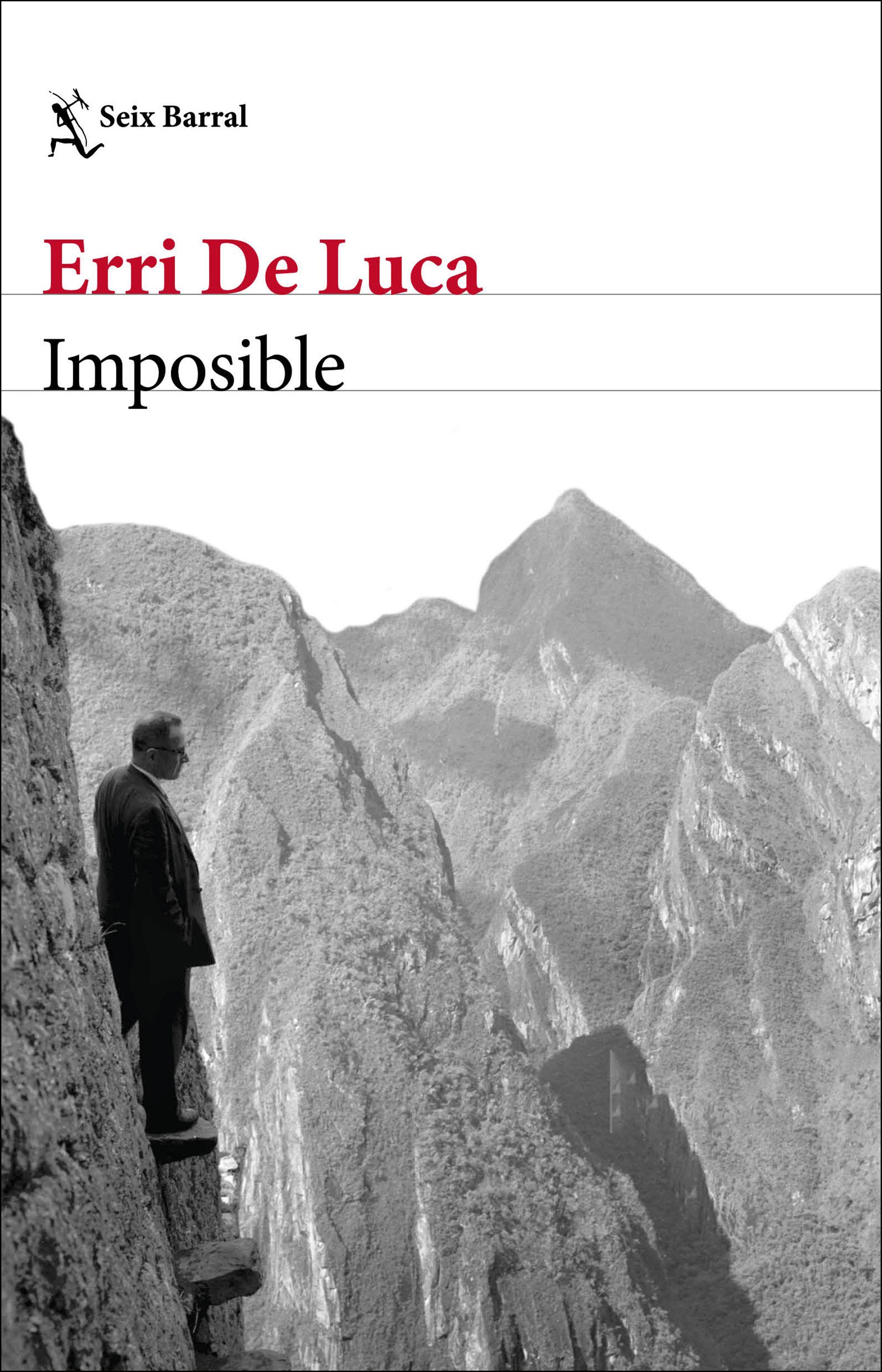 Imposible, de Erri De Luca - Premio Estandarte 2020 a mejor novela del año
