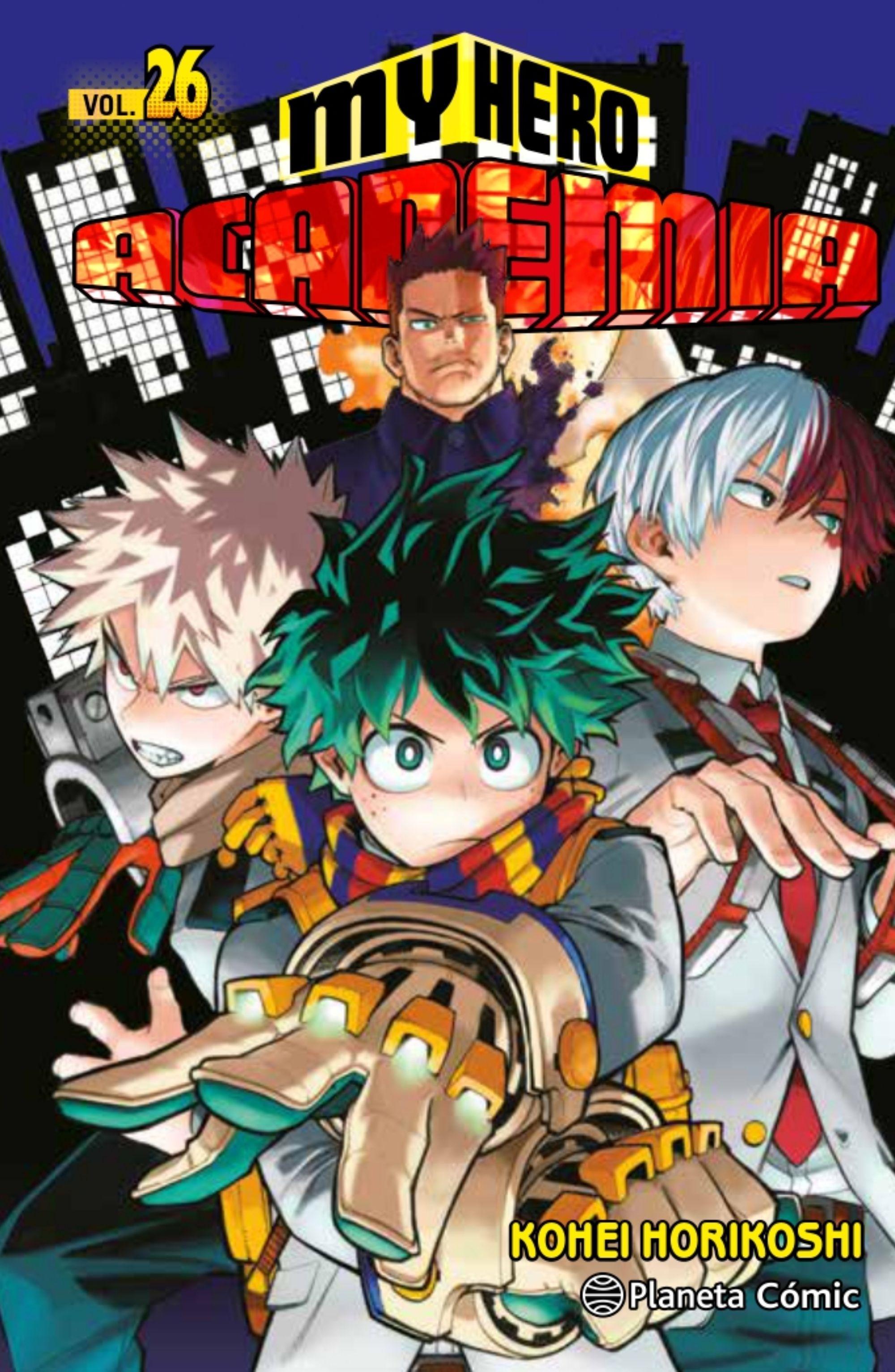 Reseña manga My Hero Academia 26