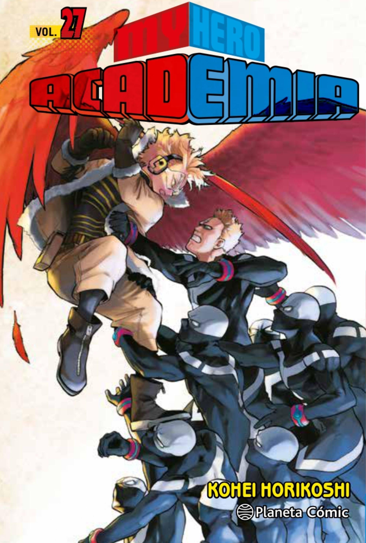 Reseña manga My Hero Academia 27